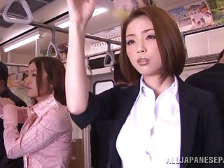 japanese asian Horny Asian model gets hard cock in public